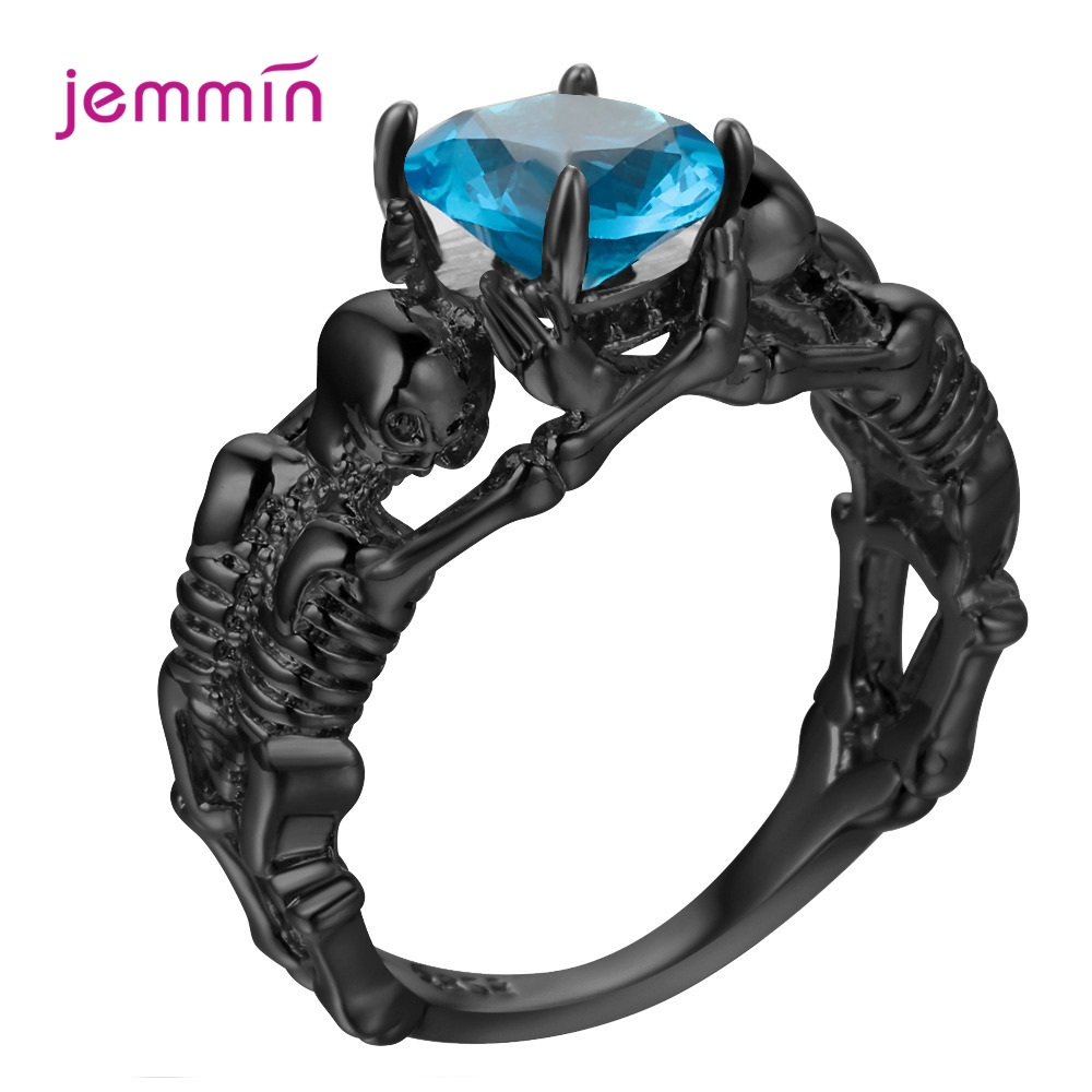 Amazing Discount Punk Style Fashion Jewelry Gift For Women Men Real 925 Sterling Silver Rings Wholesale Retail Drop Shipping
