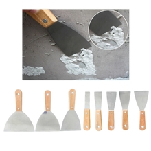 8pcs Putty Knife Paint Scraper Remover Spatula Set Carbon Steel Blade Painting X9FA