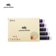 Stationery Fountain-Pen Cartridge-Value Jinhao Office Box 5pcs Refill Color-Ink School-A6612