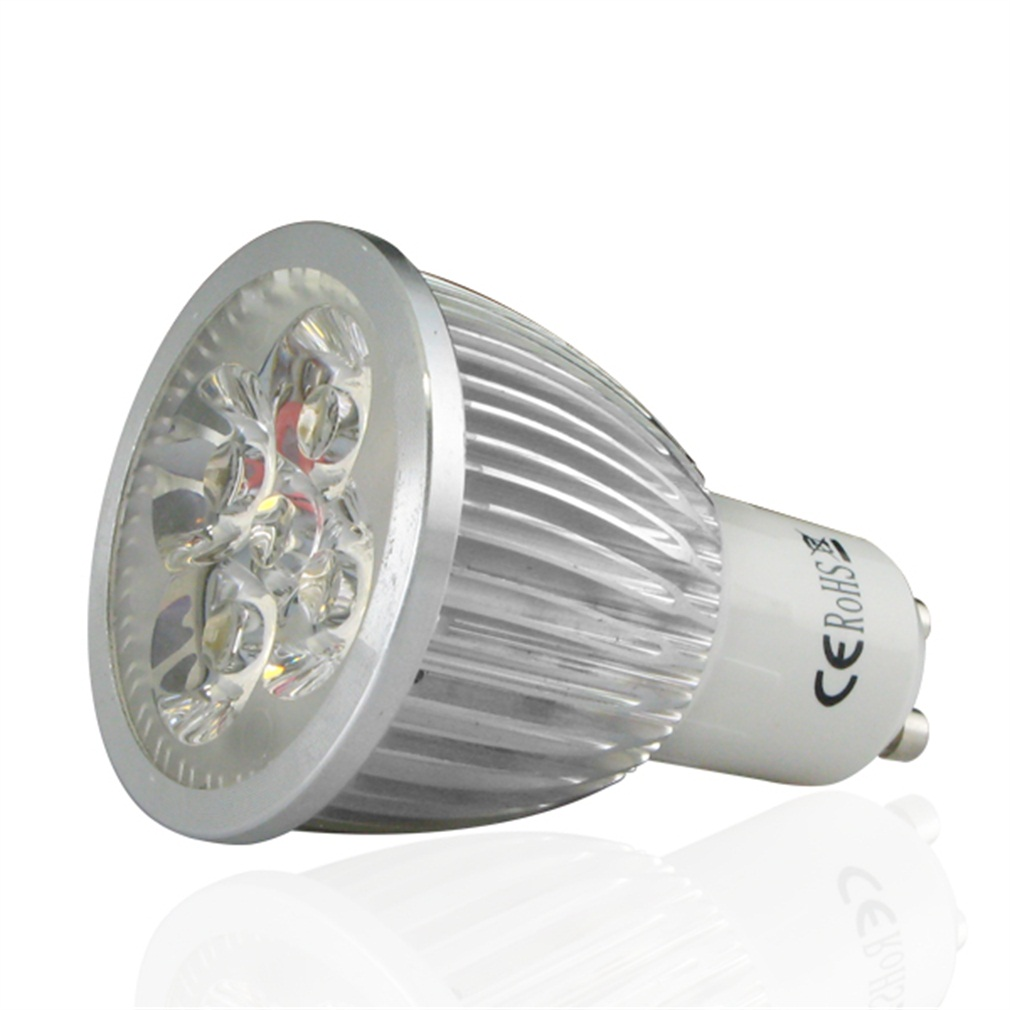 4 x GU10 4W LED SMD Spot Light Bulbs Day/Warm White High Power Super Deal! Inventory Clearance image