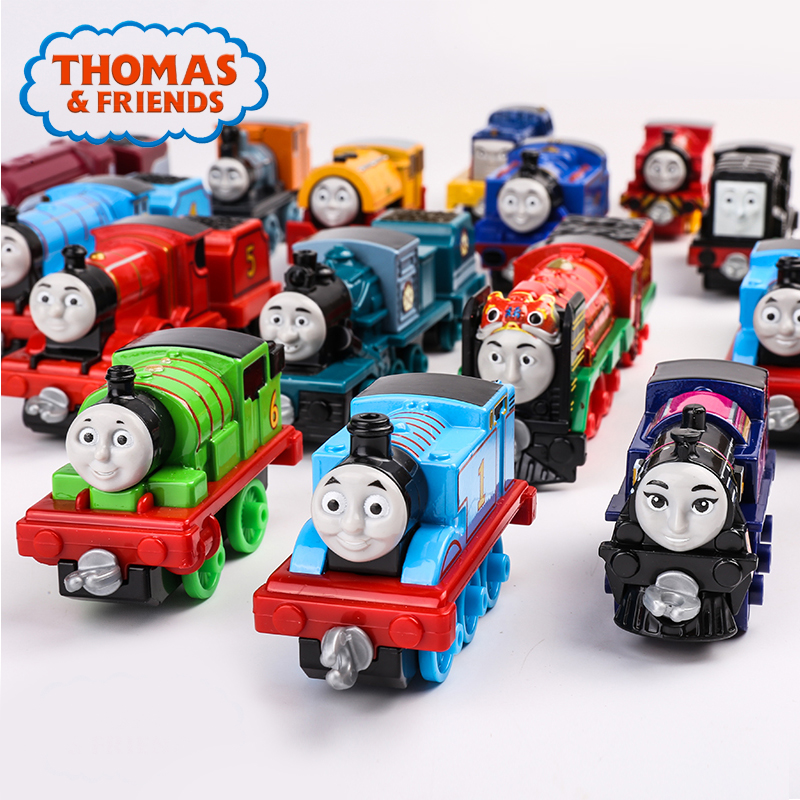 Original Thomas & Friends Train Toys Collectible Railway Die-cast Harold Helicopter Henry Mini Train Matel Kid Toys BHR64 Gift
