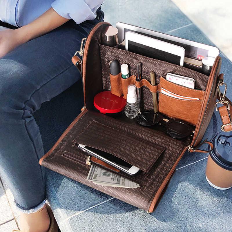 コブラー伝説本革の女性のハンドバッグトートバッグ多機能ショルダークロスボディバッグ大容量財布