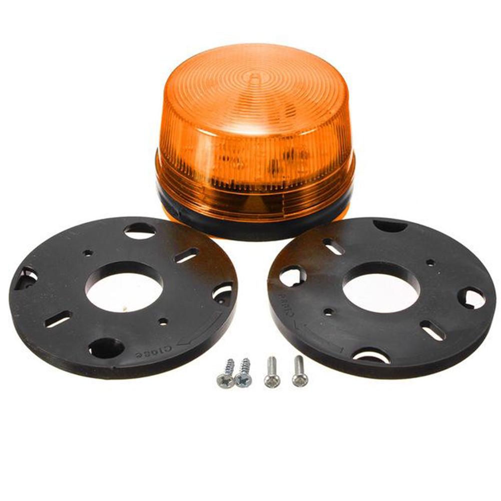 Strobe Signal Warning Light Waterproof 12V 120mA Indicator Light LED Lamp Small Flashing Light Security Alarm