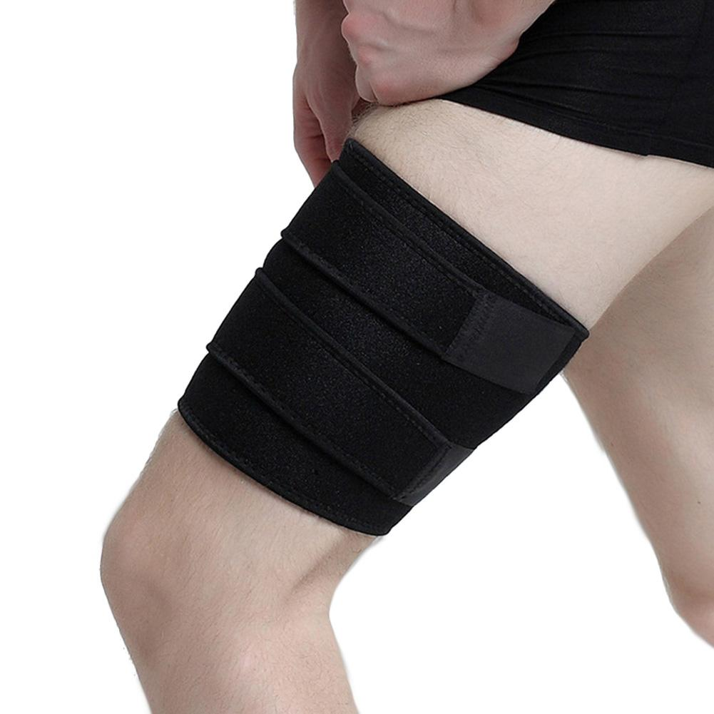 HobbyLane Outdoor Accessories Thigh Protector Adjustable Leg Cover Sports Protection Belt Muscle Recovery for Men and Women