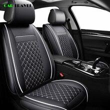 (Voor + Achter) luxe Lederen Auto Seat Cover 4 Seizoen Voor Toyota RAV4 2017 2013 CH R 2017 2016 Corolla E120 E130 Auto styling