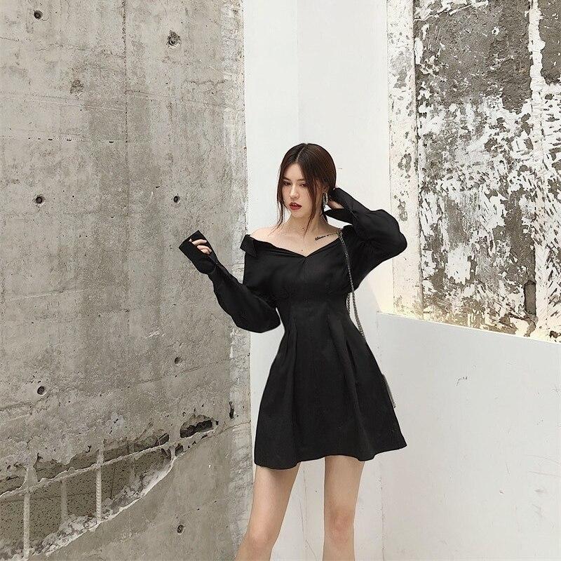 Woherb Summer Korean 2020 Fashion Long Sleeve Shirt Dress Elegant Ladies Solid Office Dresses chic Vestidos De Fiesta 21644 2