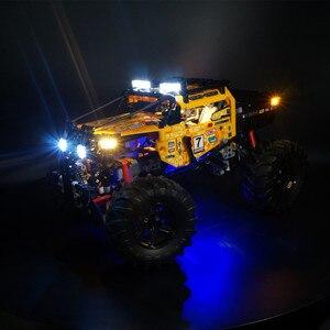 Image 2 - Kyglaring levou kit de luz para lego Technic 42099 4x4 X Treme Off Roader (apenas luz incluído)