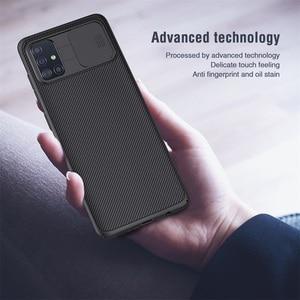 Image 5 - サムスンギャラクシー Samsung Galaxy A51 A71 ケース nillkin camshield スライドカメラカバープライバシークラシック三星 Samsung A51