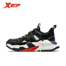 Мужская Спортивная обувь xtep модная мужская повседневная в