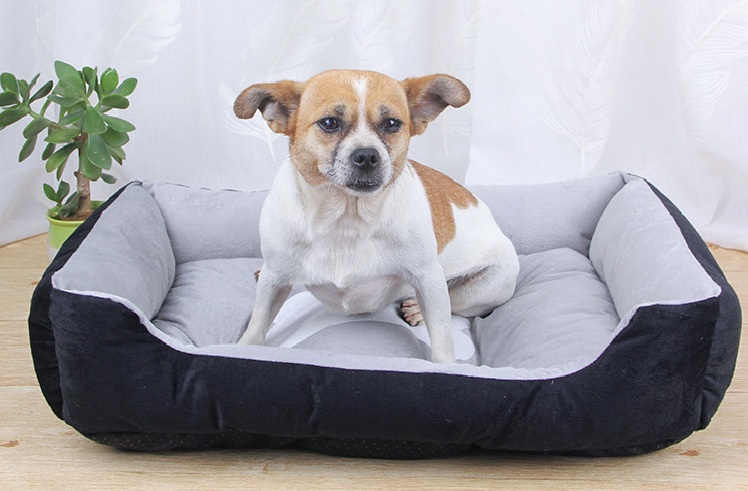 Dog Bed Nest Warming Kennel Washable Pet Puppy Comfy Plush  Cushion Pet Sleeping House Blankets For Small Medium Large Dogs thumbnail