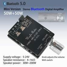 Zk 502l mini 50 bluetooth усилитель платы беспроводной аудио