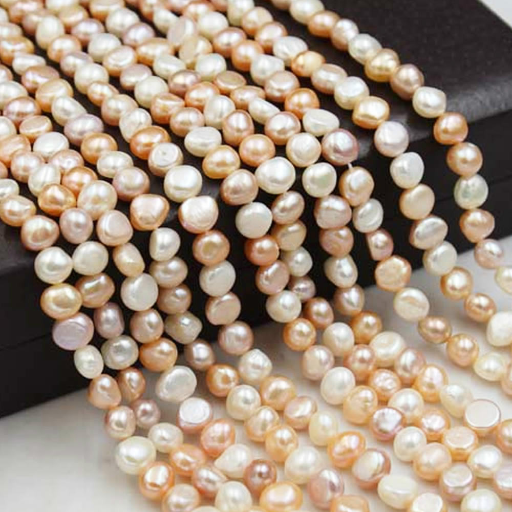 Natural freshwater pearls Bright Baroque mixed color pearls Used in jewelry making DIY necklace bracelet jewelry accessories