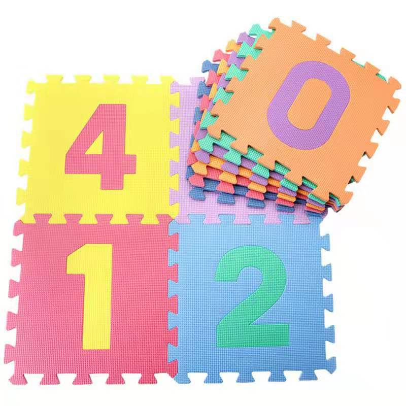 4pcs Baby Crawling Mat Alphabet /Number/Cartoon Eva Foam Mat Activity Gym Thick Carpet Kid Teaching Interactive Floor Mats