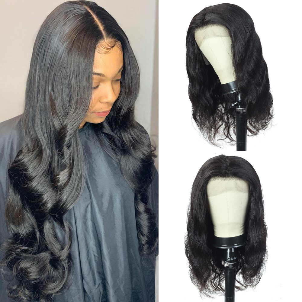 Body Wave 13*4 Lace Front Wig Natural Hairline Body Wave  Wigs  Pre-plucked Lace Front  Wigs 2