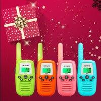 way רדיו ווקי Retevis RT637 / RT37 מיני ווקי רדיו לילדים 2pcs Talkie Handy 2 מתנה Way רדיו PMR446 PMR FRS פנס יום הולדת מתנה לחג המולד (1)