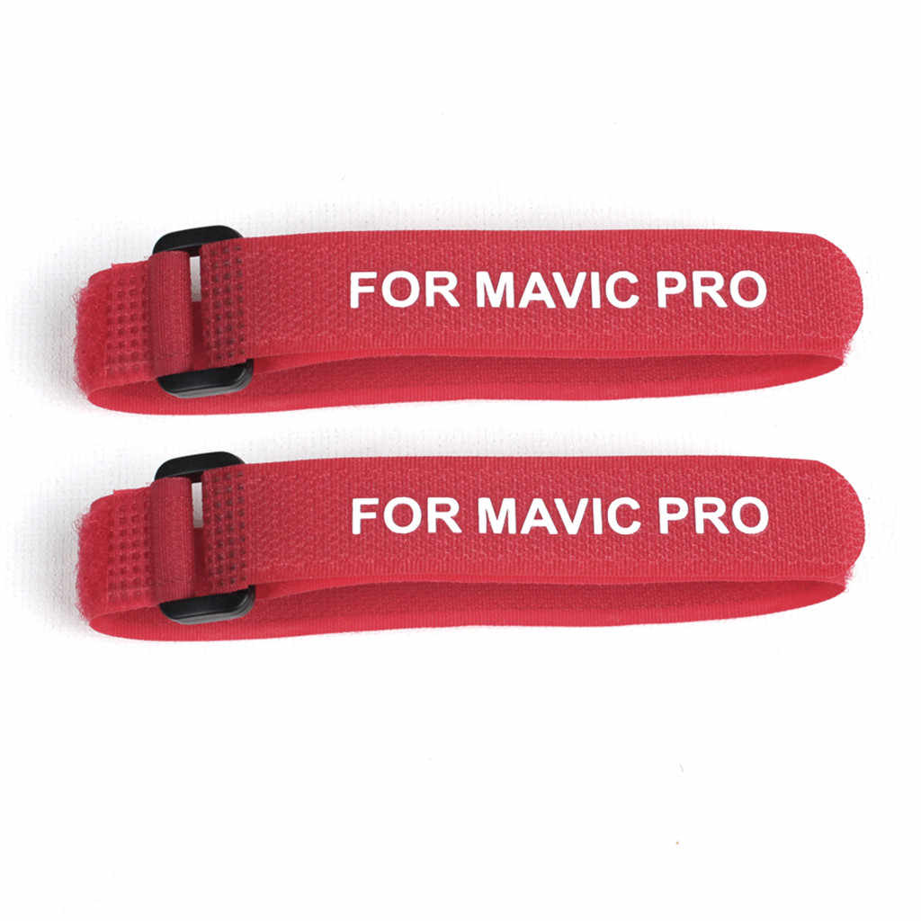 2 PC Blade Bracket Baling-Baling Fixator Perlindungan Pemegang Gesper untuk DJI MAVIC Air 2 Drone Pesawat Kamera Pisau Tali Bracket air2