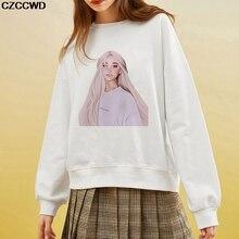 CZCCWD Polerones Mujer Female Clothes Hoodies Harajuku Fashion Ariana G