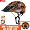 2019 corrida capacete de bicicleta com luz in-mold mtb estrada ciclismo capacete para homens mulheres ultraleve capacete esporte equipamentos de segurança 18