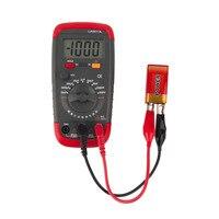 1 pc ua6013l escala automática digital lcd capacitor capacitância medidor de teste multímetro medição tester medidor novo