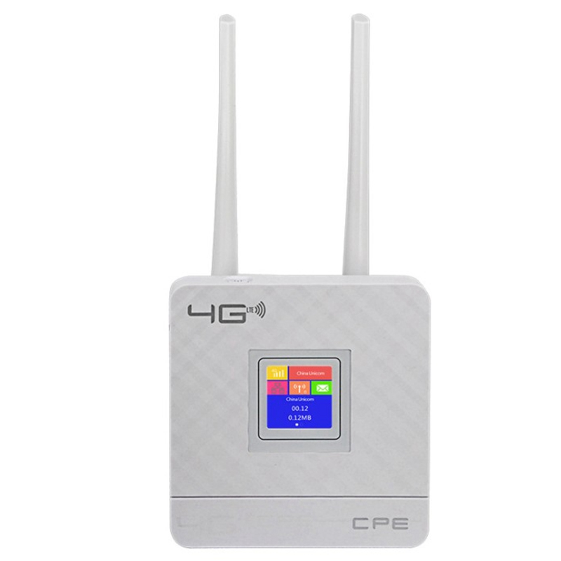 Cpe903 3G 4G Portable Hotspot Lte Wifi Router Wan/Lan Port Dual External Antennas Unlocked Wireless Cpe Router With Sim Card Slo