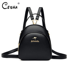 Small Backpack Shoulders-Bag Pretty-Style Girls Women Casual Fashion 3-Layers Durable