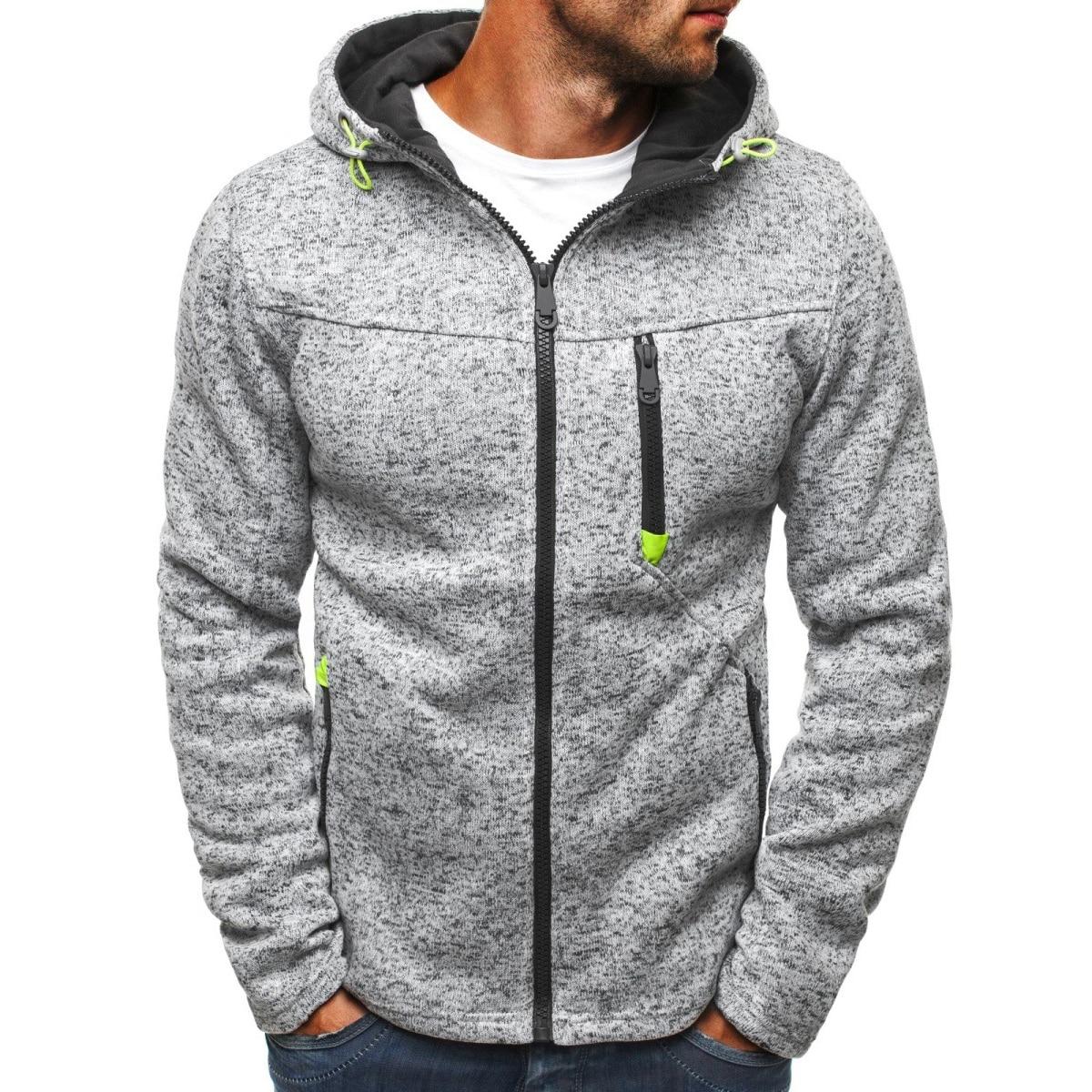 MRMT 2020 Brand Jacquard Hoodie Fleece Cardigan Hooded Coat Men's Hoodies Sweatshirts Pullover For Male Hoody Sweatshirt(China)