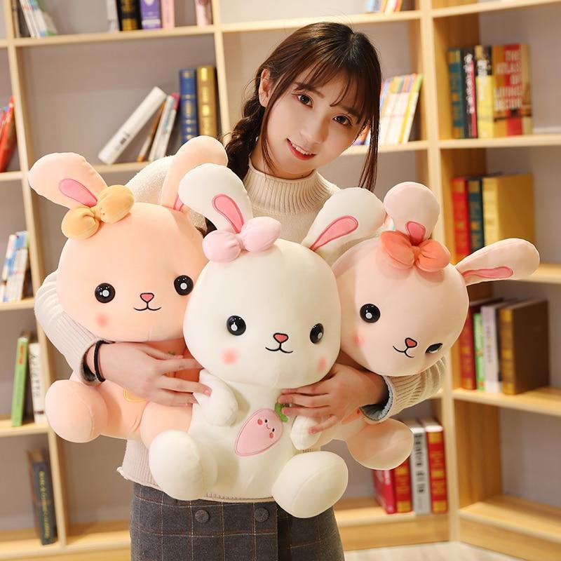 Новинка милые мягкие плюшевые игрушки с кроликом для детей куклы