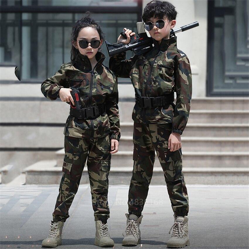 Спецназ, детская Военная униформа для мальчиков, армейский карнавальный костюм на Хэллоуин для детей, нарядная маскарадная Одежда для дево