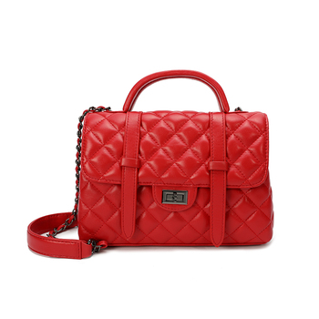 Genuine Leather Handbags Europen Famous Women Luxury Fashion designers Shoulder Bags