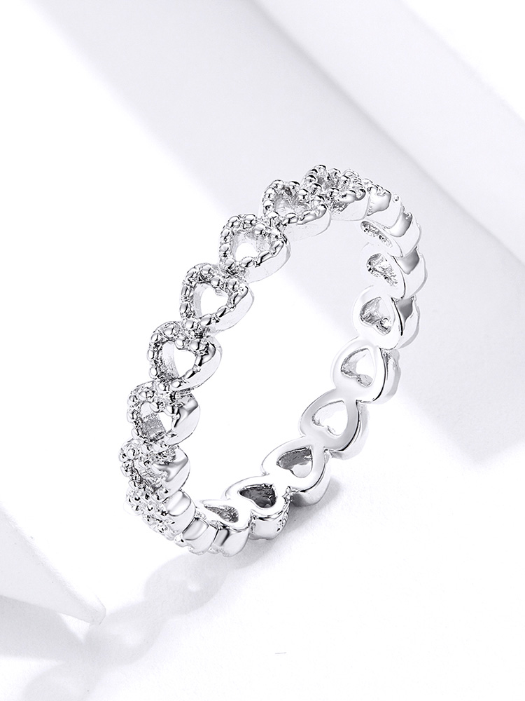 Bamoer Braided Pave Leaves 16
