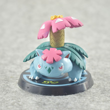 Takara  POKEMON 6pcs/set Pikachu Charizard Mewtwo Gengar Bulbasaur Action Figure Toys for Children 5-8cm lno 217pcs charizard pokemon building block