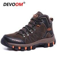 Inverno trekking caminhadas sapatos homem quente à prova dwaterproof água tênis tático botas camurça esporte ao ar livre acampamento escalada sapatos de montanha|Calçados para caminhada| |  -