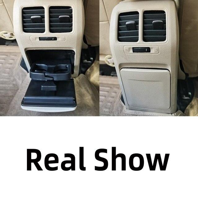1K0 862 532 New Black Beige Car Central Console Armrest Rear Cup Drink Holder For VW Jetta Golf GTI MK5 MK6 RABBIT Eos 1K0862532
