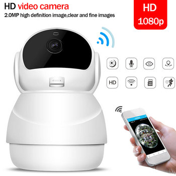 IP Camera  Mini Network Surveillance Camera Night Vision 1080P Wireless Wifi Full HD Home Security Baby wireless surveillance cameras integrated machine vision hd network camera 960p wireless monitor wifi