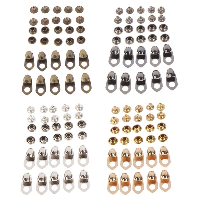 For Climb Hiking Shoes Work Outdoor Mountaineering Boots 10Sets Metal Speed Shoe Lace Hooks Lace Fittings Buckles With Rivets
