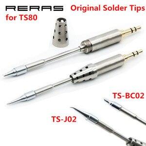 Image 1 - TS BC02 TS J02 TS D24 TS K4 TS B02 BC2 J02 Original Löten Kopf für TS80 Ersatz Solder Löten Eisen Werkzeuge Set Kit