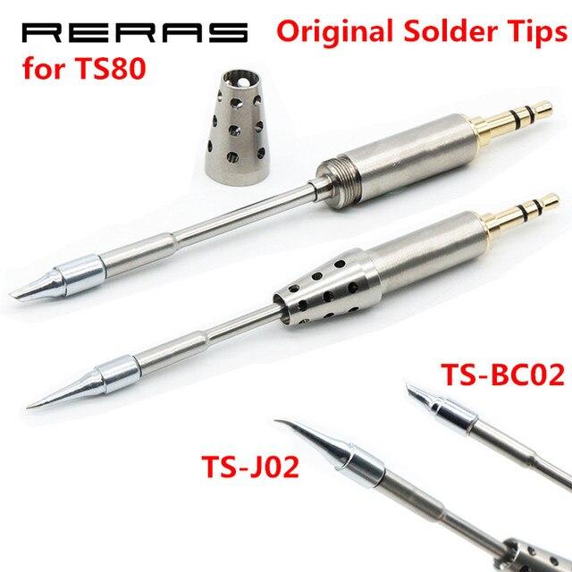 TS BC02 TS J02 TS D24 TS K4 TS B02 BC2 J02 Original Löten Kopf für TS80 Ersatz Solder Löten Eisen Werkzeuge Set Kit
