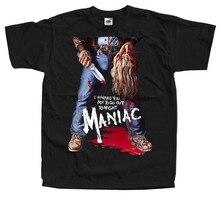 Maniaque Affiche de Film William Lustig Homme Drôle T-shirt Vêtements Hip Hop T-shirt 3D Imprimer T-shirt T-Shirts De Marque Hommes Hauts