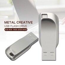 Newest metal pendrive waterproof USB metal high speed 128GB pen drive 16GB 8GB 4GB USB Flash Drive 32GB usb Stick