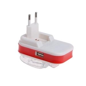 Image 3 - USB 범용 배터리 충전기 LCD 표시기 화면 휴대 전화 용 EU/US 플러그