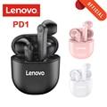 Lenovo PD1 TWS Kopfhörer BT 5,0 Kopfhörer Wahre Drahtlose Ohrhörer mit Touch Control Semi-in-Ohr Binaural Typ-C mit MIC