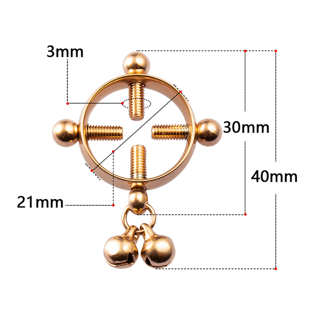 Vis carr/ée en acier inoxydable Non Piercing N-iP-ple Anneau Bouclier Bijoux Piercing Corps