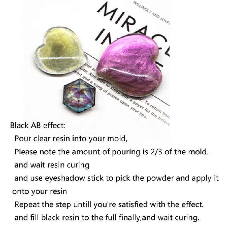21 色オーロラ樹脂マイカ真珠光沢顔料着色剤エポキシ樹脂モールドジュエリーツール