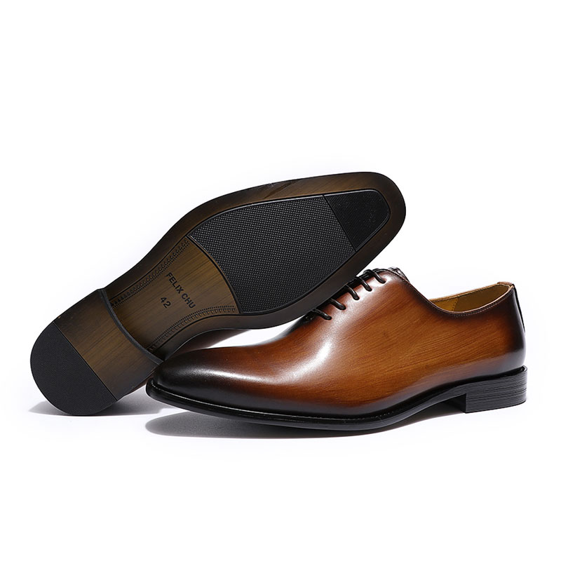 Classic men's Oxford shoes, made of genuine leather 4
