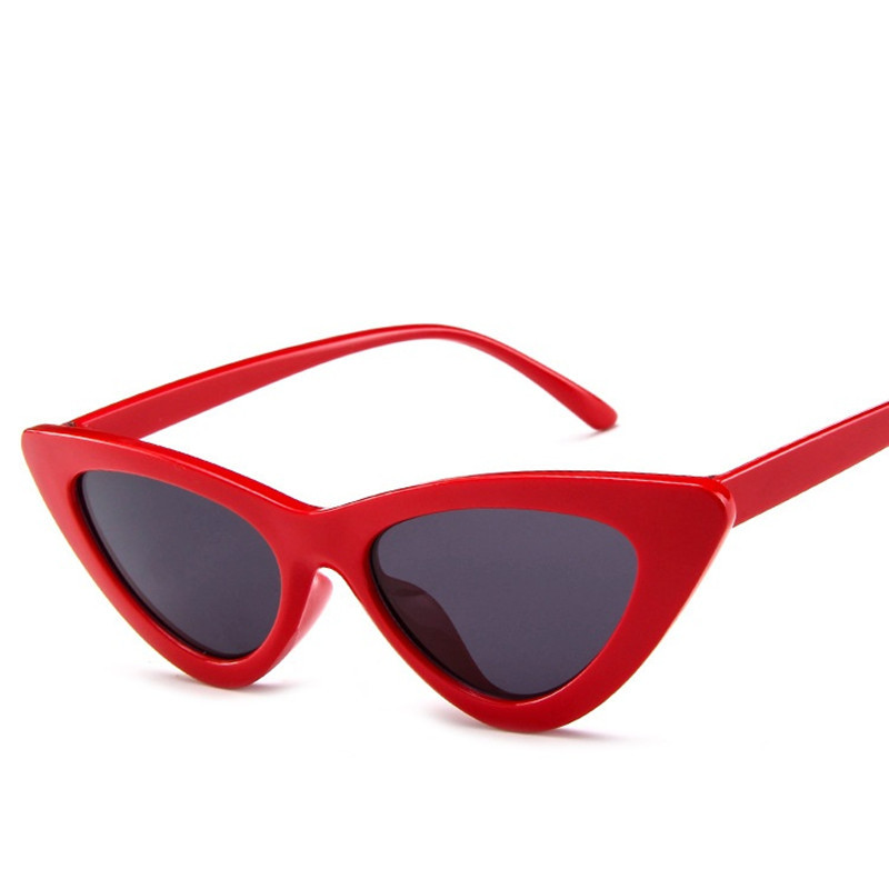 <font><b>Cat</b></font> <font><b>Eye</b></font> <font><b>Sunglasses</b></font> <font><b>Women</b></font> <font><b>Sexy</b></font> Retro Small Cateye Sun Glasses Mens 2020 <font><b>Brand</b></font> <font><b>Designer</b></font> Colorful Eyewear Shades For Female image