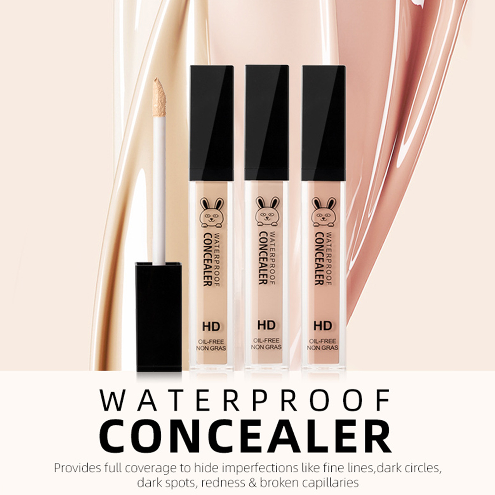 Dark Circles Convenient Corrector Foundation Skin Women Face Makeup Full Cover Blemish Concealer Liquid Cosmetics Gift Portable image