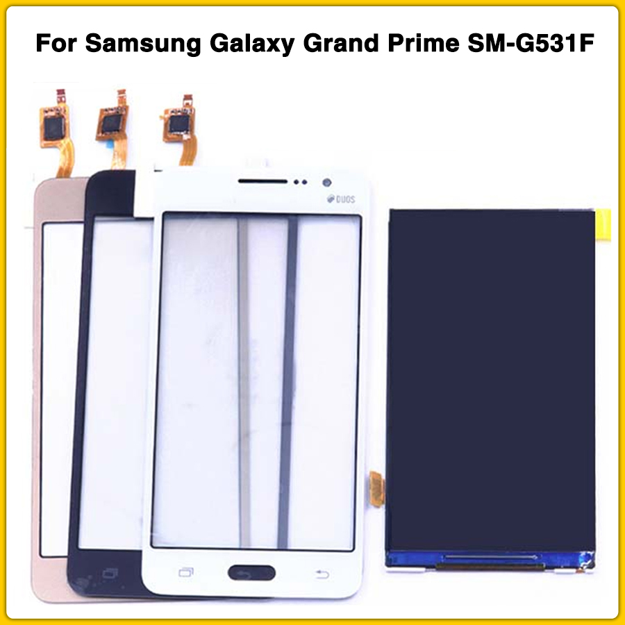 new <font><b>G530</b></font> LCD Touch Screen For <font><b>Samsung</b></font> Galaxy Grand Prime SM-G531F SM-<font><b>G530</b></font> G531 LCD <font><b>Display</b></font> Touch Panel Digitizer Front Glass image