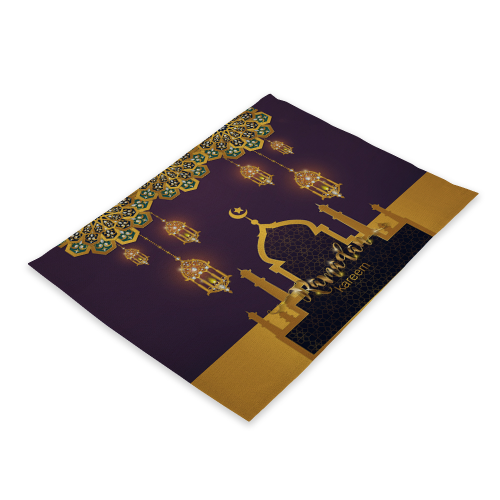 Ramadan Decorations Islam Decor Eid Decoration Home Table Placemat Geburtstagsdeko Ramadan Mubarak Ramadan Kareem Home Decor