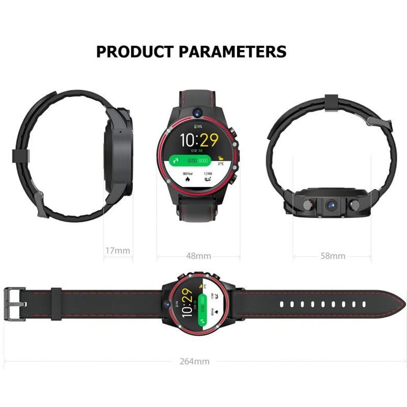KOSPET Vision 3 ГБ 32 ГБ 5.0MP двойная камера GPS Спорт Android Смарт часы 1,6 800 мАч Bluetooth Smartwatch для мужчин для IOS Android - 4
