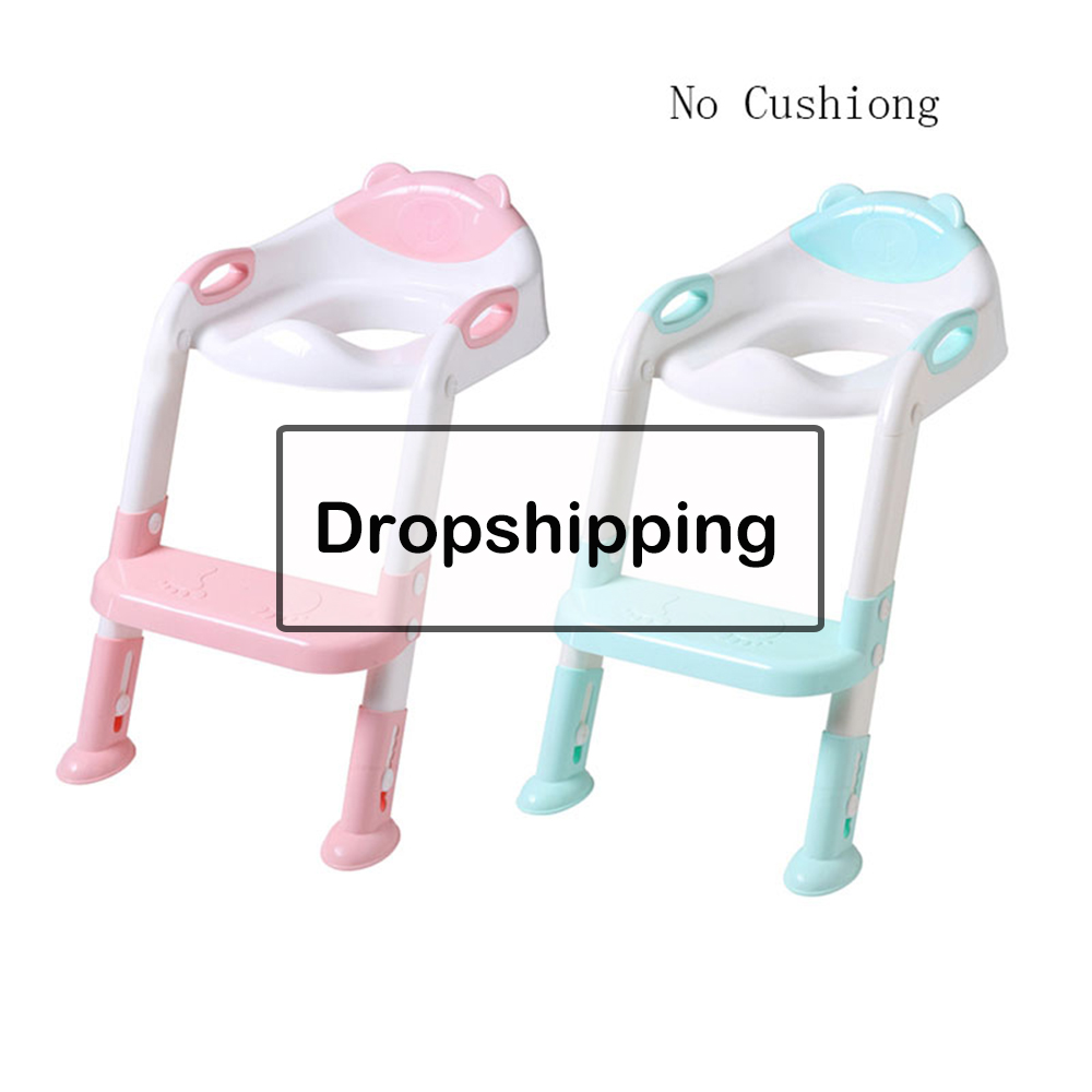 Folding Baby Potties Training Seat With Armrests Children Toilet Pan Kids Training Toilet Seat Urinal Handle Bowl Urinal Potties